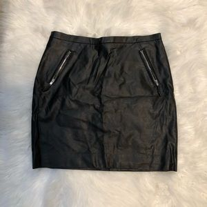 4/25$$ H&M Faux Leather Mini